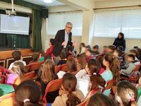 Ομιλία του Άγγελου Τσιγκρή στο 33ο Δημοτικό Σχολείο της Πάτρας, για τη σχολική βία και την κακοποίηση