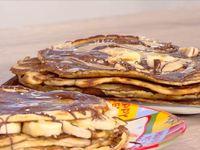 Pancakes με ταχίνι και πετιμέζι ή σοκολάτα από την Μαρία Εκμεκτσίογλου