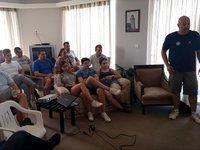 Σεμινάριο για τους διαιτητές μπιτς βόλεϊ των Μεσογειακών Παράκτιων Αγώνων