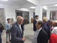 """Ο Γιώργος Παπανδρέου επισκέφθηκε την έκθεση """"Πριμαρόλια"""" στο Αίγιο"""