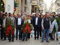 Ο Δήμος Πατρέων τιμά το Πολυτεχνείο