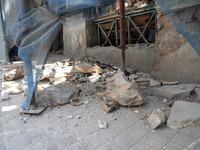 Έπεσε καμινάδα από το σεισμό και τραυματίστηκε 8χρονο αγόρι