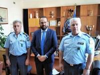 Ο Νεκτάριος Φαρμάκης συναντήθηκε με την τοπική ηγεσία της ΕΛ.ΑΣ.