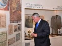 Ο Μάκης Βορίδης επισκέφτηκε το Εβραϊκό Μουσείο και ζήτησε συγγνώμη - ΦΩΤΟ