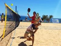Το beach tennis υπόσχεται πλούσιο θέαμα στους Μεσογειακούς - ΦΩΤΟ