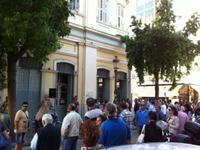 ΤΩΡΑ: Πορεία στο κέντρο της Πάτρας από εργαζόμενους του δήμου