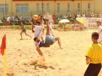 Χρώμα Μεσογειακών στα προκριματικά του Πανελλήνιου beach soccer