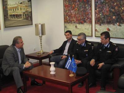 Επίσκεψη Γενικού Επιθεωρητή Πυροσβεστικών Υπηρεσιών Νοτίου Ελλάδας στην Αποκεντρωμένη Διοίκηση
