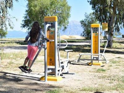 Πάτρα: Εγκαταστάθηκαν όργανα γυμναστικής εξωτερικού χώρου στο Νότιο Πάρκινγκ- ΔΕΙΤΕ ΦΩΤΟ