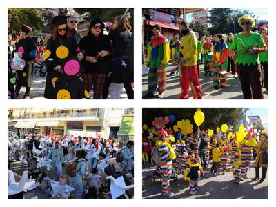 Τα πρώτα κλικ από το Καρναβάλι των μικρών! Σε εξέλιξη η παρέλαση