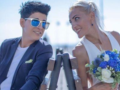 Η Κύπρια πρωταθλήτρια σκοποβολής Άντρη Ελευθερίου παντρεύτηκε την αγαπημένη της