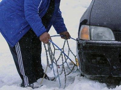 Αχαΐα: Με αλυσίδες η κίνηση στην Πούντα-Καλαβρύτων- Προβλήματα από την χιονόπτωση