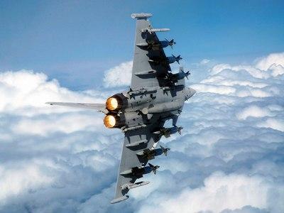 Eurofighter: Δείτε βίντεο από την πτώση μετά τη μοιραία σύγκρουση των αεροσκαφών