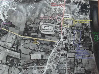 Μία αεροφωτογραφία από την Αγυιά, πριν 61 χρόνια
