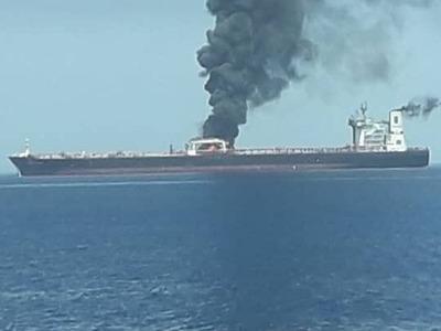Επίθεση σε δυο δεξαμενόπλοια στον Κόλπο του Ομάν