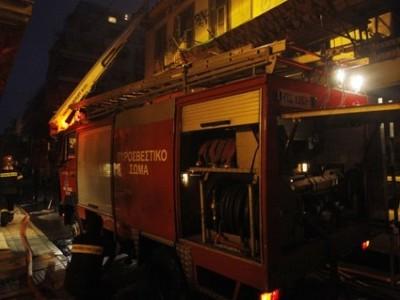 Φωτιά σε πολυκατοικία της Πάτρας από βραχυκύκλωμα