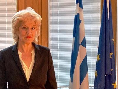 Σία Αναγνωστοπούλου: Περιμένουμε την επίσημη απάντηση της Γερμανίας για τις πολεμικές αποζημιώσεις