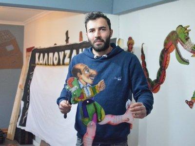 """Ο Χρήστος Καλπουζάνης παρουσιάζει για τα σχολεία την παράσταση """"Στα κύματα του Καρναβαλιού"""""""