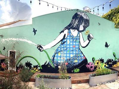 Στην Χαριλάου Τρικούπη η 6η τοιχογραφία του Street Art Φεστιβάλ Πάτρας