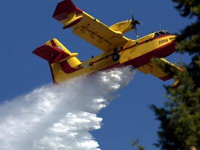 Κατέπεσε πυροσβεστικό αεροπλάνο στη Ζάκυ...