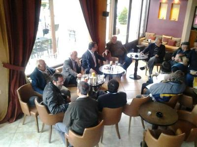 Δημήτρης Τριανταφυλλόπουλος: Μεγάλη περιοδεία στην ορεινή Αχαία...και στήριξη της υπαίθρου!