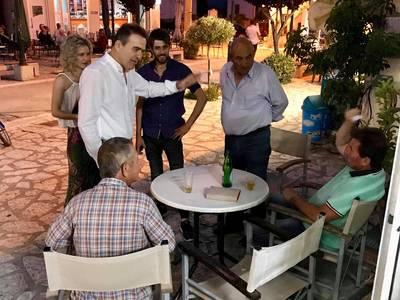 Γιώργος Κουτρουμάνης: Περιοδεία σε Μαζαράκι, Κώμη & Μιτόπολη