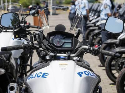 Η αστυνομία συνέλαβε μια επαρχιακή ελληνική πόλη για σωρεία αδικημάτων τον Οκτώβριο