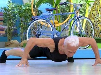 Ο πιο δυνατός παππούς στην Ελλάδα είναι 75 ετών και κάνει απίστευτα πράγματα....
