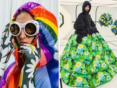 Φουσκωτό υπερθέαμα: Τα διάσημα μπουφάν Moncler βάζουν πλώρη για το κόκκινο χαλί