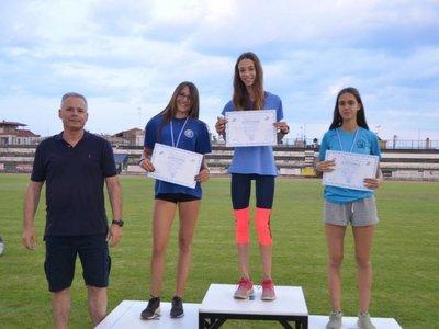 Εξαιρετικές επιδόσεις οι Πατρινοί αθλητές στίβου στο Λουτράκι