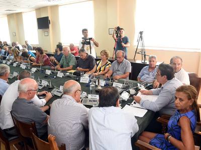 Τα μέλη της Οικονομικής Επιτροπης και της Επιτροπής Ποιότητας Ζωής του Δήμου Πατρέων