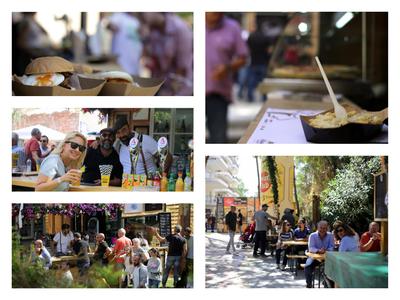 Όλα όσα έγιναν την πρώτη ημέρα του street food festival της Πάτρας