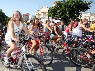 Η Πάτρα συμμετέχει στη σημερινή πανελλαδική ποδηλατοπορεία
