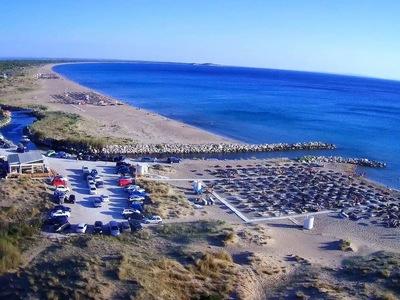 Η περίφημη παραλία της Καλογριάς από ψηλά!
