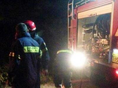 Φωτιά σε ξερά χόρτα στα Βραχνέικα