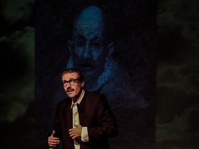 """Ο Τάκης Χρυσικάκος με την """"Αναφορά στον Γκρέκο"""" στο Θέατρο Τόπος Αλλού"""