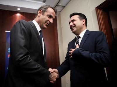 Κ. Μητσοτάκης: Η εφαρμογή της Συμφωνίας των Πρεσπών, είναι προϋπόθεση για την ευρωπαϊκή προοπτική της Βόρειας Μακεδονίας