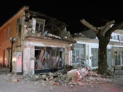 Σεισμός - Πάργα: Τρεις τραυματίες και πολλές ζημιές σε κτίρια και δρόμους - ΦΩΤΟ