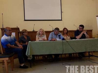 Παρουσιάστηκαν οι υποψήφιοι βουλευτές της ΛΑ.Ε. στην Αχαΐα - ΒΙΝΤΕΟ