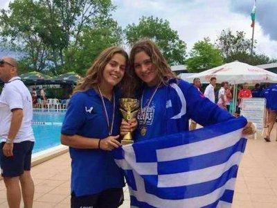 Μπιτσάκου και Τσιμάρα στο Ευρωπαϊκό πρωτάθλημα πόλο
