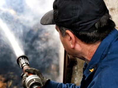 Φωτιά στη Βούντενη- Στο σημείο η Πυροσβεστική