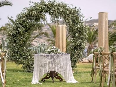 Η Diamond Events πήγε Κρήτη διοργανώνοντας την πιο ελληνοπρεπή, γαμήλια τελετή