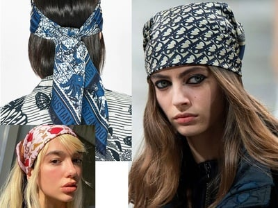 8 τρόποι για να αξιοποιήσετε στο έπακρο το μαντήλι σας σε ρούχα και μαλλιά! igynaika.gr