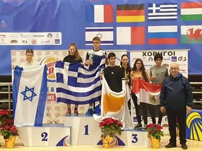 Πέντε χρυσά μετάλλια Άκης Σωτηρόπουλος κ...