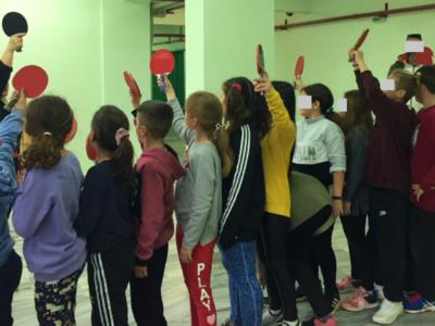 Τα παιδιά γνωρίζουν το Ολυμπιακό Άθλημα της Επιτραπέζιας Αντισφαίρισης