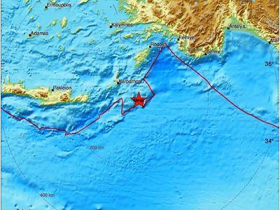 Σεισμός ανοικτά της Καρπάθου