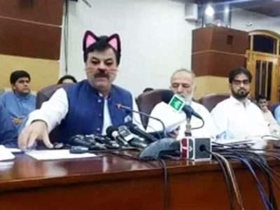 ΑΠΙΣΤΕΥΤΟ: Υπουργός εμφανίστηκε με αυτάκια γάτας στο Facebook - ΦΩΤΟ