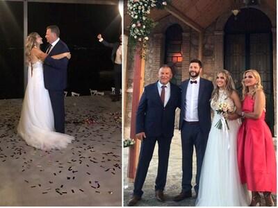 Ο λαμπερός γάμος της Διονυσίας Βέροιου κ...