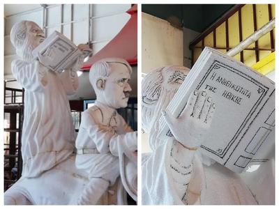 """Αυτό είναι το """"απαγορευμένο"""" άρμα με τον Αμβρόσιο που κόπηκε από το Πατρινό Καρναβάλι!!!"""