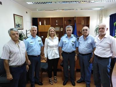 Οι συνταξιούχοι Αστυνομίας Πόλεως στη Γενική Περιφερειακή Αστυνομική Διεύθυνση  Δυτικής Ελλάδας
